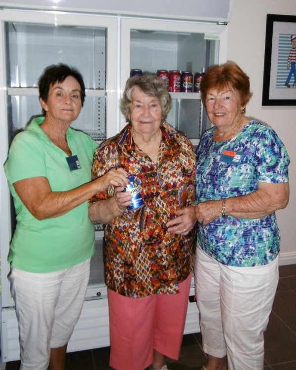Friends of Embracia in Woodford | Volunteers with the Drinks Fridge