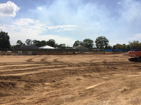 Earthworks at Burpengary